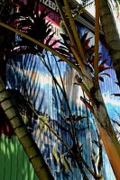 Illusions of palm trees by swansisters