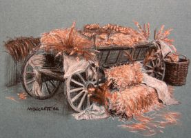 Hay Wagon by spudsy2