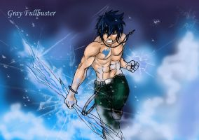 Gray Fullbuster by Nizhan