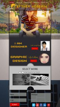 Website Istie Efther Hossain by eftherhossain