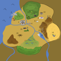 PokeAdventure: Map of the Realm by GuildMasterLion
