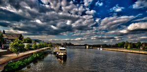 The river Maas by forgottenson1