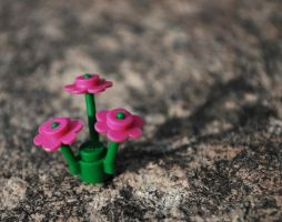 Lego Flowers by NiceMatth