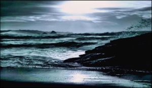 Stormy Morning In Archipelago December 13 st  by eskile