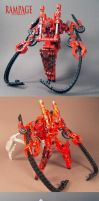 Rampage red ROTF custom 2.0 by Unicron9
