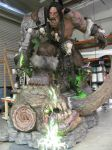 Grommash Hellscream Statue by Armenoc