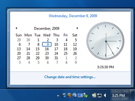 ReClock - 7 Clock Popup for XP by MixenDixon