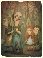 Hansel and Gretel by V-L-A-D-I-M-I-R