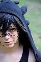 Toothless human form (httyd) by VioletCheshire