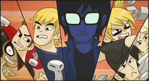 Scott Pilgrim - A Leage of Evil Exes by HelloColdWorld