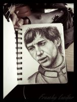 Young Ayrton by HLea33