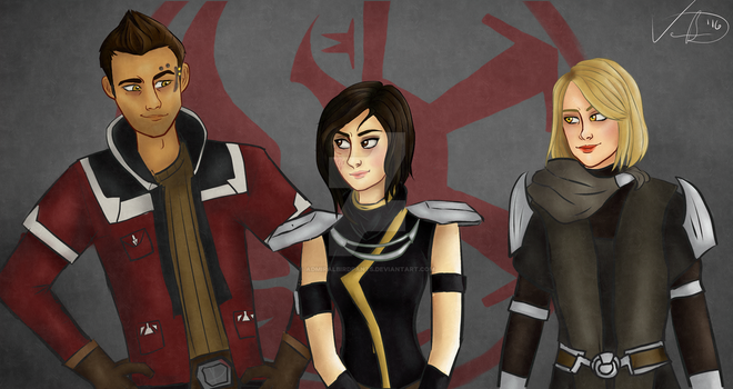 Alliance Squad by AdmiralBirdpants