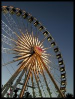 State Fair - La Grande Wheel by freezejeans