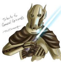 General Grievous Tribute by Twokinds
