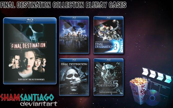 Final Destination Collection Bluray Cases by ShamSantiago
