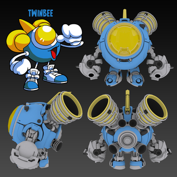Twinbee ortho by Peachlab