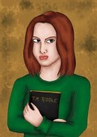 Ginny Weasley by comicalclare