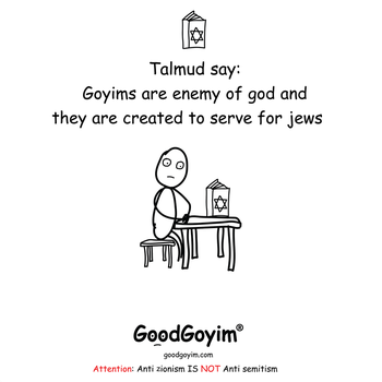 Goyims created to serve for jews by GoodGoyim-com