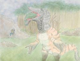 Austroraptor - The Stomping Land by Dannyp96