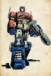 Old-school Optimus Prime by Soulman-Inc