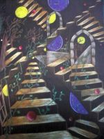 abstract stair maze by shirls-art