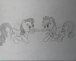 Tug o' war by Bill-the-Pony