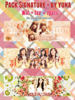 [Cover Zing] Pack Signature - By Yuna by YunaPhan
