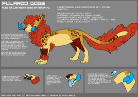 Fularoo Dogs Species Reference by Inklash