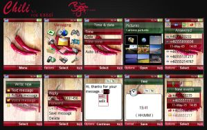 Chili v1 Theme for K850i by bschulze