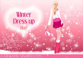 Winter Dressup and makeover by sevelina