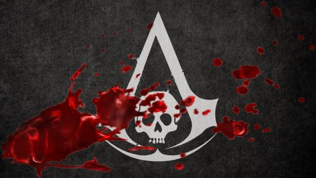 AC 4 Bloody Flag by 91pw11
