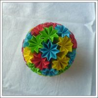 Kusudama 5 by lonely--soldier