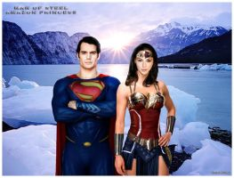 Man Of Steel x Amazon Princess - Starts A New Age by GabeCurly