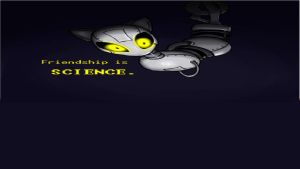 Friendship is Science xbox dashboard wallpaper by MLP-Portal