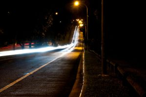Car lights - Long Exposure .1 by DeMarco-Design