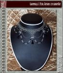 DesireeMorte-Chainmail Necklac by metalweavers