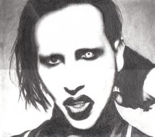 Marilyn Manson by Siemy
