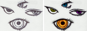 Eyes by nightmarescome