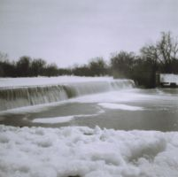 Diana+ Waterfall By xspyfishx by toy-camera