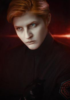 General Hux: Evil space Disney prince by WiseKumagoro
