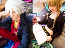 .:Soul x Maka / 100Likes / Thank you:. by KaLi-Cosplay