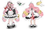 Miyu The Maid (Character Template) Colorized by MuffinSaga
