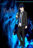 Ao No Exorcist-Okumura Rin. by Marceline007