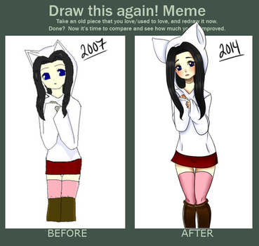 Draw This Again Meme 1 by BiisuMonster