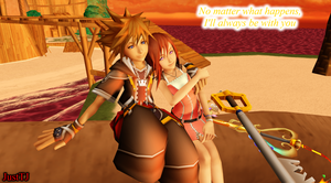 KH MMD Valentine - Always With You by JustTJ