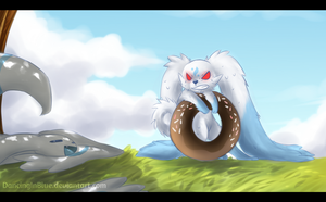 Take the donut, they said by DancingInBlue