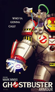 iron man : ghostbuster armour by m7781