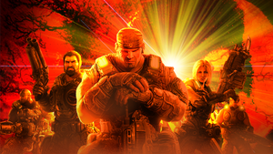 Gears of War 3 -Contest Entry- by spdy4
