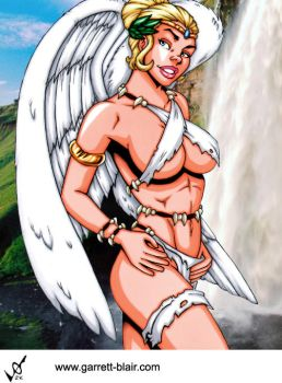Savage Land Angel by Mythical-Mommy