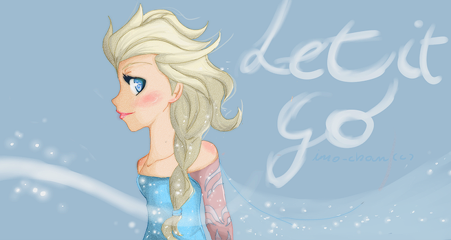 .:Elsa.Let.It.Go:. by Ino-chan